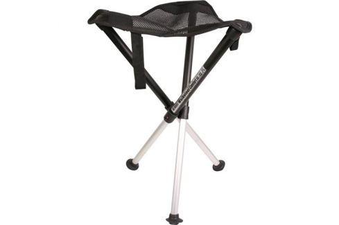 Kempingové kreslo Walkstool Comfort XL černá/stříbrná 63547 1378386
