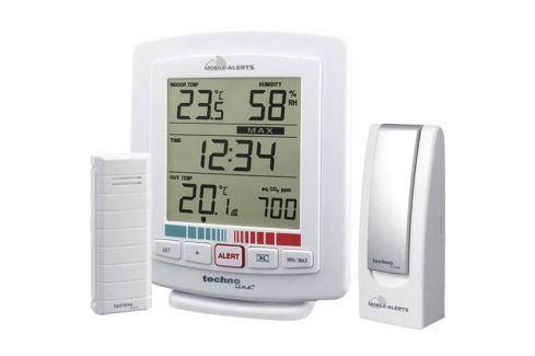 Bezdrôtový teplomer a vlhkomer so senzorem kvality ovzdušia Techno Line MA 10005 Mobile Alerts 1396680