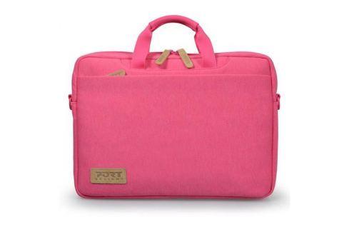 PORT DESIGNS TORINO Toploading taška na 13,3'' notebook, ružová 140401