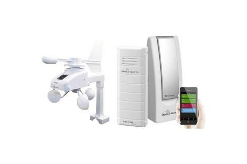 Digitálna bezdrôtová meteostanica Techno Line Mobile Alerts MA 10045, Max. dosah 100 m, biela 1410350