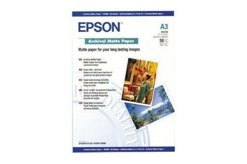 Papier EPSON S041344 Archival Matte 194g/m2, A3, 50ks C13S041344