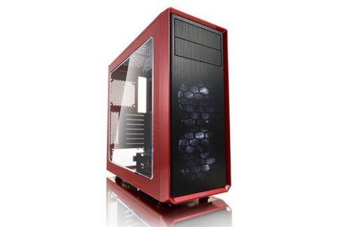 Skrinka Fractal Design Focus G červená(okno) FD-CA-FOCUS-RD-W